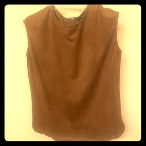 Simple Brown Blouse